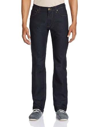 Lee Men's Slim Fit Jeans (8903252696286_28W x 33L_Dark Rinse Stretch)