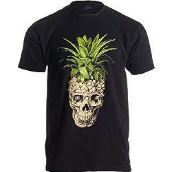 Ann Arbor T-shirt Co. diseño con piña - Colort negro