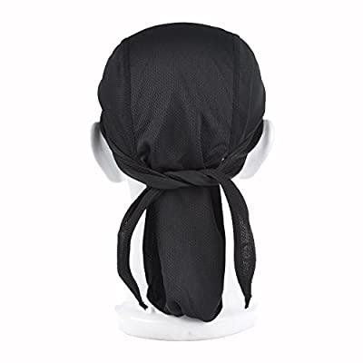Bicycle Cap Hat Quick Dry Skull Cap Sports Running Cycling Bandana Headband Under Helmet for Men Women from Collun