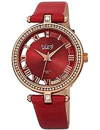 4734abc65f8f Amazon.es  Rojo - Relojes de pulsera   Mujer  Relojes