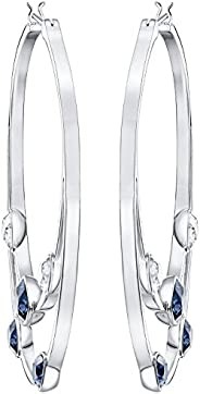 Swarovski Women Rhodium Plated Earring - 5279771