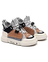 XL_etxiezi Zapatillas de niño Zapatos de niña, Gris_22