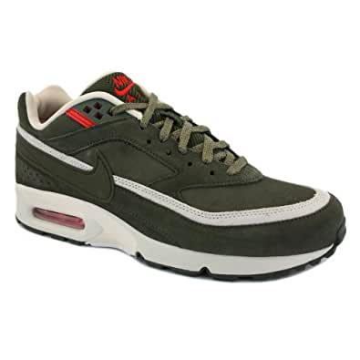 Nike Air Classic BW 309210 372 Mens Laced Suede & Synthetic Trainers Khaki - 11