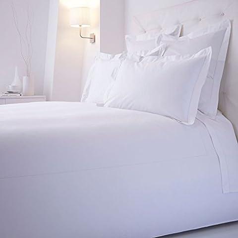 sahas Hojas 500tc 100% algodón egipcio 6piezas juego de sábanas sólido de color blanco, bolsillo, 25cm Profundo, tamaño