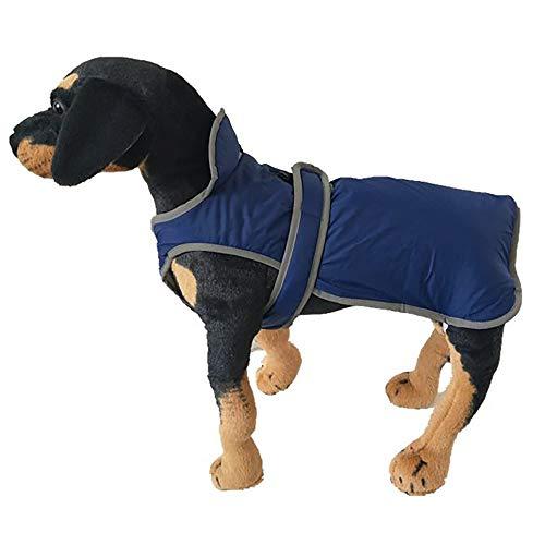 Xbeast Warme Weste für Haustiere, weich, Winddicht, Baumwolle, für Kaltes Wetter, hält warm