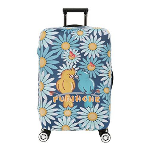YiiJee Kratzfest Kofferhülle Kofferschutzhülle Luggage Cover Gepäck Cover Kofferbezug Reisekoffer Hülle Kofferschutz Als Bild2 S