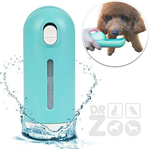 DR Zoo Haustier-Flasche Loona die Faltbare Hunde-Trinkflasche als Wasser-Flasche für unterwegs