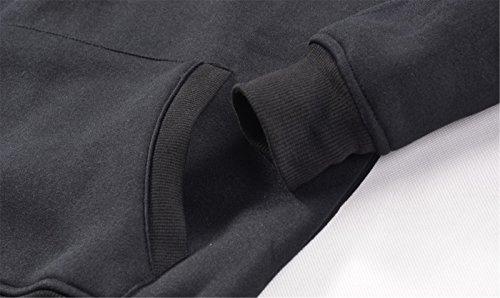 SIMYJOY Pärchen Dabbing Hoodie Entzückende Cartoon Pullover für Liebespaar Hip Pop Kapuzen Sweatshirt für Herrn Damen Junge und Mädchen für Herrn Damen Junge und Mädchen schwarzes einhorn