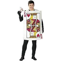 Guirca80769.0 Déguisement de roi de carte pour adulte Taille 52-54