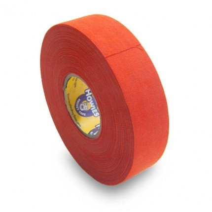 Schlägertape Profi Cloth Hockey Tape 25mm f. Eishockey farbig (orange)