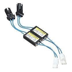 RGAta T10T15194W5W 168921 Lastwiderstand-LED-Decoder-Set,Canbus-Fehler-Warnunterdrücker, für LED-Leuchtmittel, 2 Stück