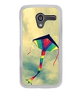 Colourful Kite 2D Hard Polycarbonate Designer Back Case Cover for Motorola Moto X :: Motorola Moto XT1052 XT1058 XT1053 XT1056 XT1060 XT1055