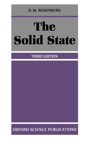 The Solid State: Introduction to the Physics of Crystals for Students of Physics, Materials Science and Engineering