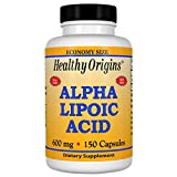 Healthy Origins, Alpha Lipoic Acid, 600mg x 150 Caps