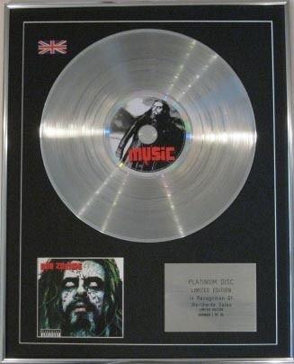 Rob zombie-CD Platinum disc- passato presente e futuro