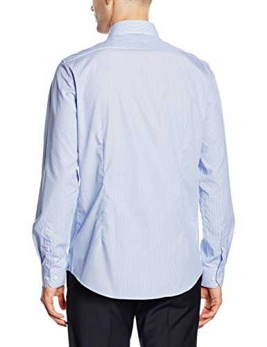 Calvin Klein Herren Businesshemd Rome Fitted Fec Blau (LIGHT BLUE 455)