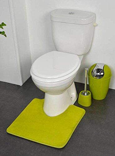 EVIDECO Toilettenvorleger, Mikrofaser, rutschfest Modern 20