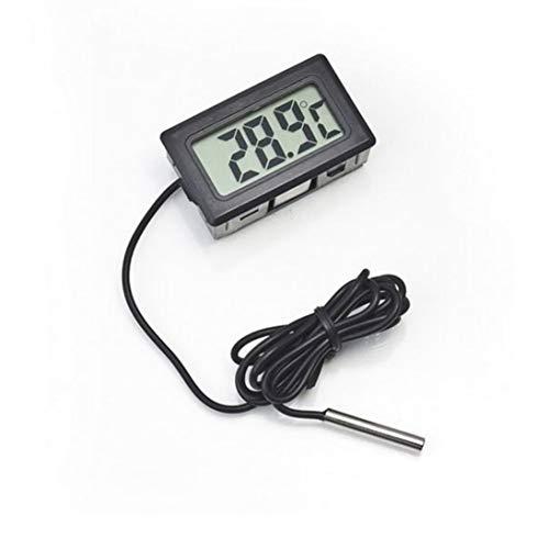 Design-lcd (WEIHAN Praktisches Design Digital LCD Sonde Kühlschrank Gefrierschrank Innenthermometer Sensor Meter Thermograph Für Kühlschrank)