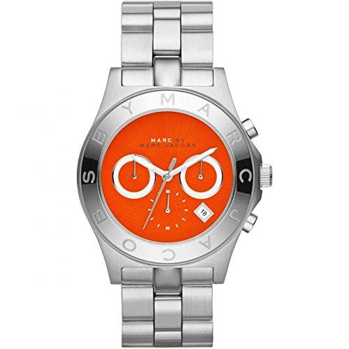 Marc Jacobs MBM3306-Uhr für Frauen, Edelstahl-Armband Silber
