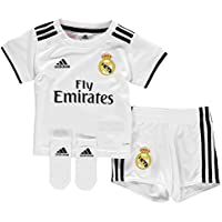 Adidas Real Madrid Minikit, Unisex bebé, Blanco, 74