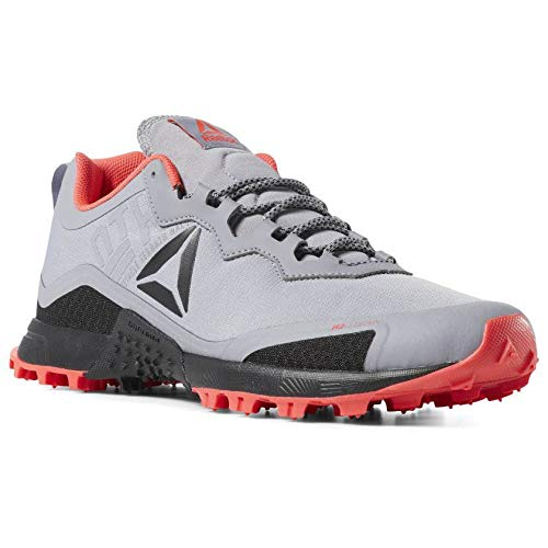 Reebok All Terrain Craze, Scarpe da Trail Running Uomo, Multicolore (Cool Shadow/Black/Neon Red 000), 44.5 EU