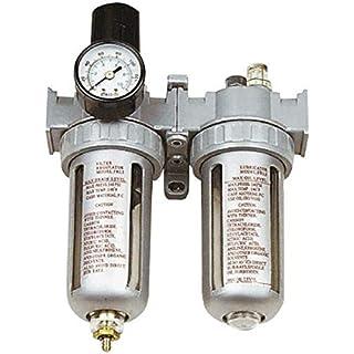 Filter Pressure Regulator Asturo afrl80with Gauge, Anti-Condensation Filter and Oil Can