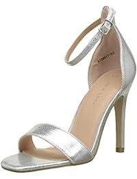 41b1a4da6559 New Look Women s 5739817 Ankle Strap Heels