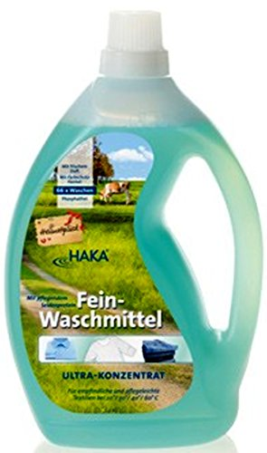 Preisvergleich Produktbild 1a HAKA Fein-Waschmittel Heimatglück --- Ultra-Konzentrat--- 2l Flasche