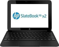 HP Slatebook 10-h006RU x2 10.1-inch Laptop (Smoke White) with Laptop Bag