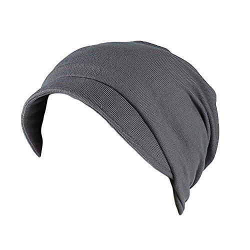 Rosennie Damen Kopftuch Wrap Chemo Mütze Camouflage Turban Hut Haarausfall Kopftuch Wrap Frauen Soild Indien Muslim Elastic Turban Kopfbedeckungen Kopf Wraps Mütze Beanie -