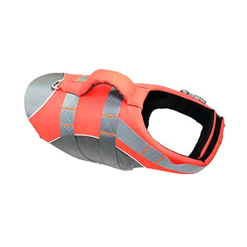 ZLD Pet Schwimmweste Badeanzug Outdoor-Bekleidung liefert widerstandsfähige Materialien mit Bergsteigertechnologie, hochwertige Schwimmwesten bequem und sicher von Menschen geliebt,Orange -