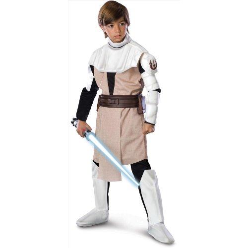 Obi-Wan Kenobi™ Kostüm für Kinder Star Wars™ -  5-7 - Obiwan Kenobi Kinder Kostüm