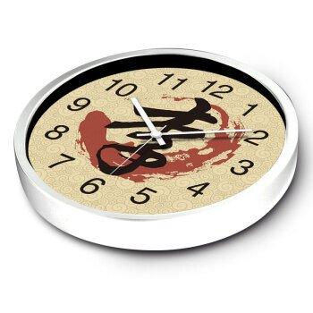 """Beloved clock Wanduhr Modern Neu Für Jeden Raum präzise Kreative Thema Kreative Wohnzimmer bietet die Pinyin White Box 14 Zoll (35 cm), 12"""" (30 cm), Banner, weiße Schachtel"""