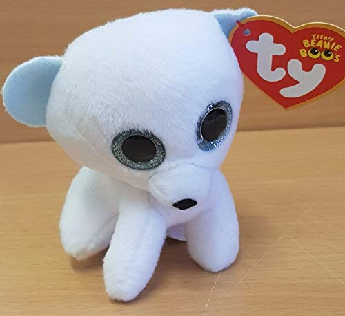 McDonalds Happy Meal Toy 2017 UK Teenie Beanie Boos FROSTINESS Polar Bear b5e6aee6723d