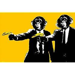 GB eye, Monkeys, Bananas, Maxi Poster, 61x91.5cm