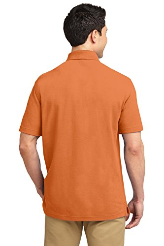 Port Authority ezcotton Pique Polo Shirt Dusty Orange