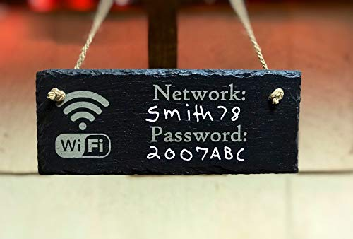 Eyrrme Señal de Pizarra con contraseña WiFi