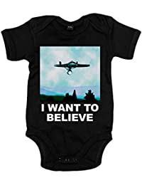 Body bebé Star Trek I Want To Believe Enterprise