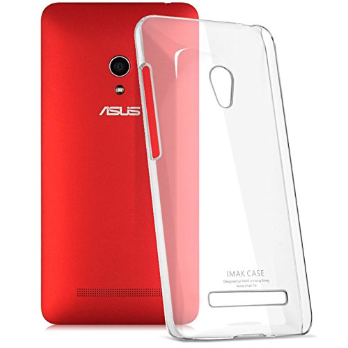 Jo Jo Imak Crystal Transparent Flip Hard Bumper Back Case Cover For Asus Zenfone 5 Clear