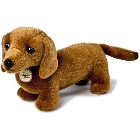MiYoni Dogs 13110 - Bassotto di peluche, 20,5 cm
