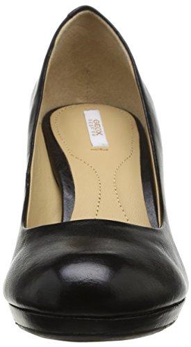 Geox D Lana C, Scarpe con Tacco Donna Nero (BLACK C9999)