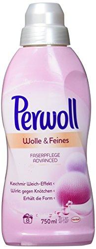 Perwoll Wolle und Feines Faserpflege Advanced Flüssig, 750 ml