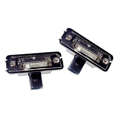 1 Paar Automobil-LED-Kennzeichenleuchte Zubehör 1J6943021B Ersatz für Golf Jetta 4 Passat B6