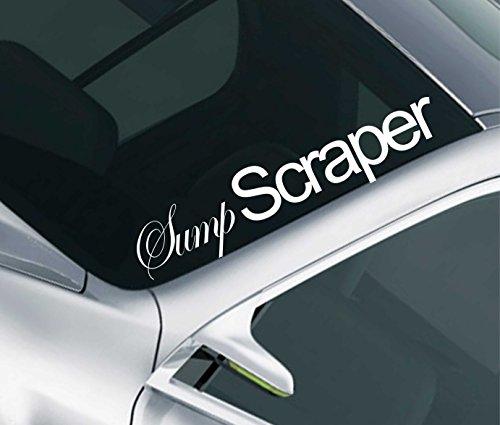 De vidange d'huile grattoir pare-brise Sticker JDM Drift voiture Frappé A Dub VW en 8