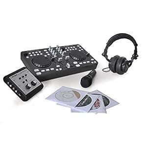 DJ Tech iMix Total Pack Computer Laptop DJ Set Soundkarte
