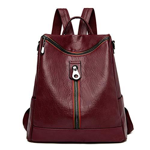 XACXYDP Damen Rucksack Große Kapazität Retro Style Simple Fashion Rucksack