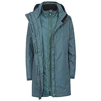 Trespass Alissa II Womens Waterproof 3 in 1 Jacket with Hood 8