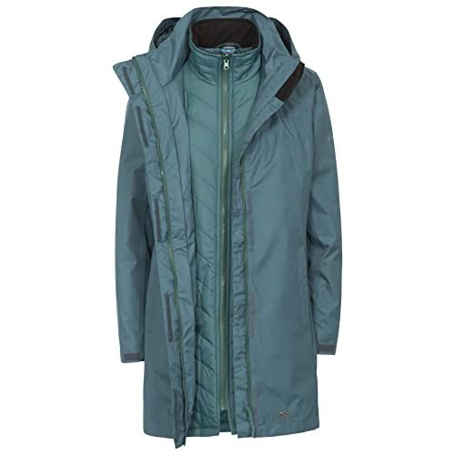 410v9 6H7yL. SS500  - Trespass Alissa II Womens Waterproof 3 in 1 Jacket with Hood