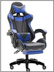 Yalla Office Adjustable PU Leather Gaming Chair - PC Computer Chair for Gaming, Office or Students, Ergonomic