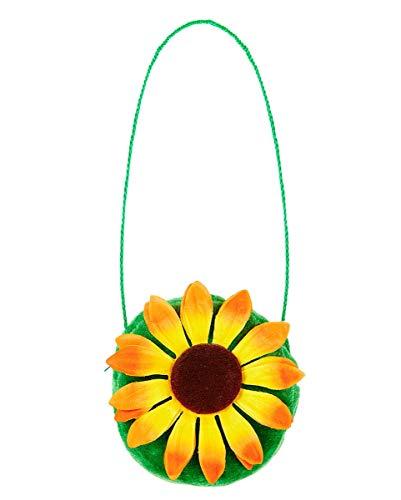 Horror-Shop Kleine Handtasche mit Sonnenblume